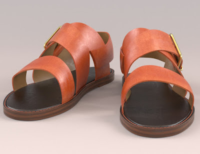 3d Models Art Zone - Mia Sandals for Genesis 3 Female(s)