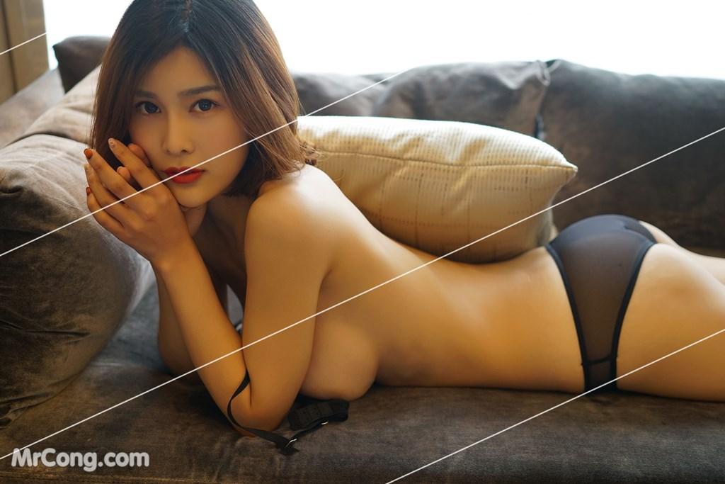 Image Yan-Pan-Pan-Part-3-MrCong.com-017 in post Ngắm vòng một siêu gợi cảm với nội y của người đẹp Yan Pan Pan (闫盼盼) (51 ảnh)