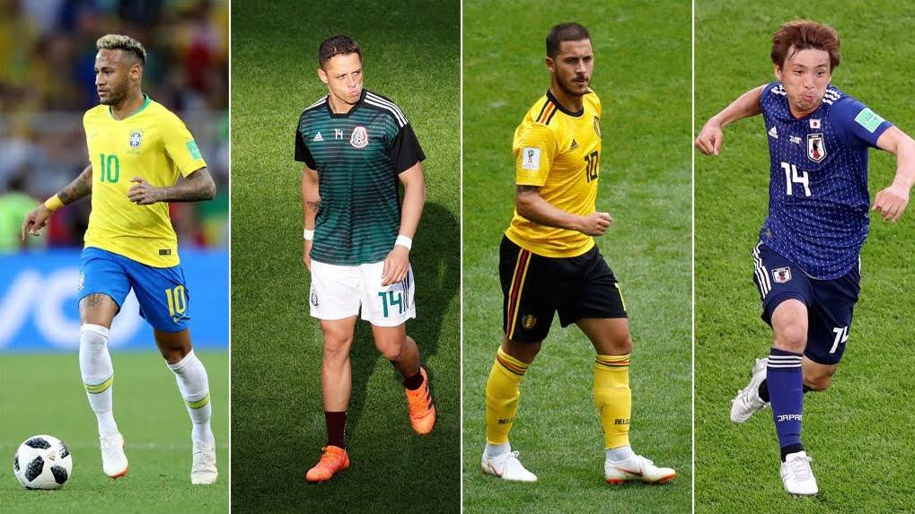 Mondiali Calcio 2018 Streaming: Brasile-Messico e Belgio-Giappone, Diretta TV su Canale 5 oggi 1° luglio