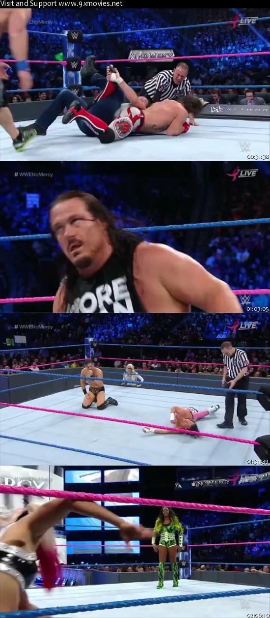 WWE No Mercy 2016 PPV WEBRip 480p x264 600MB