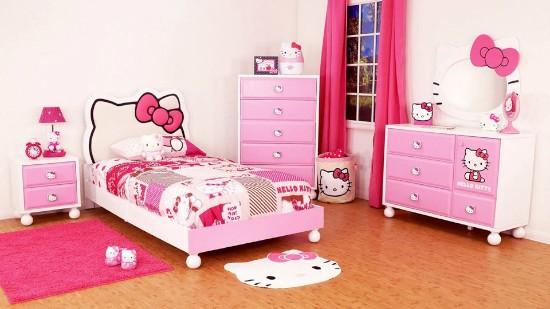 desain kamar anak  bertema ceria dan lucu