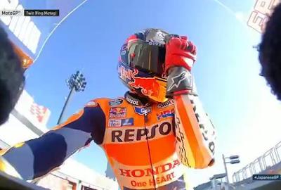 Crutchlow Halangi Marquez Raih Pole di GP Jepang