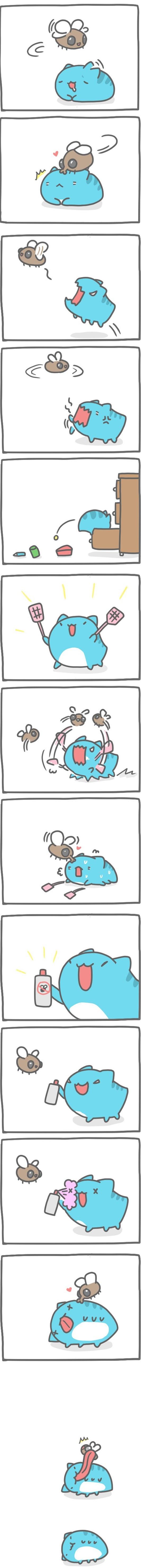 Truyện Mìn Lèo #135: Chuyện ruồi bu