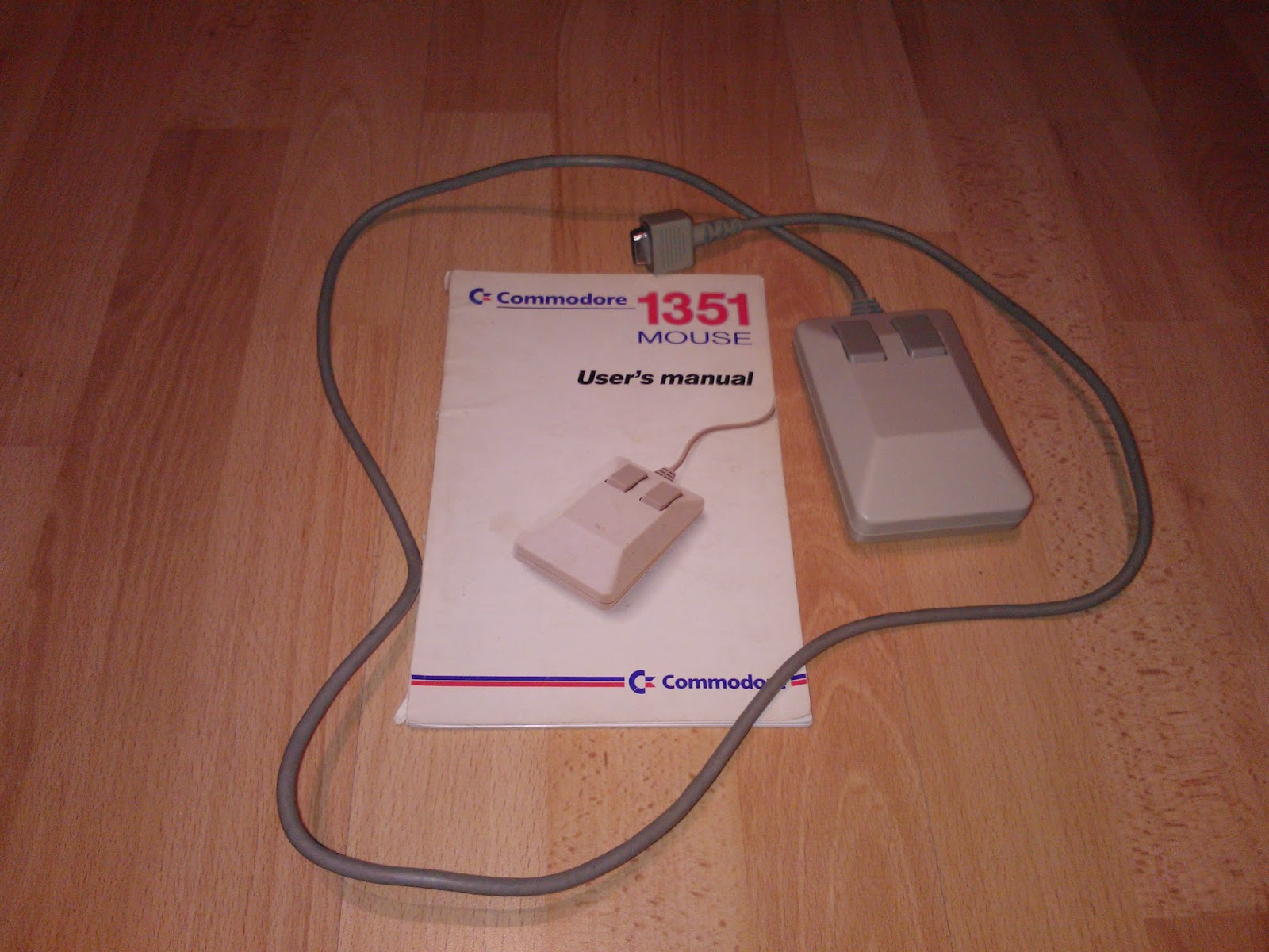I have a Commodore 1351 mouse bought ages ago, for chips. It wasn't  functioning properly, since the horizontal movement didn't work.
