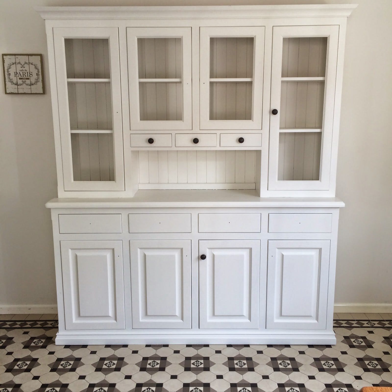 Lilyfield Life: White Painted Kitchen Hutch