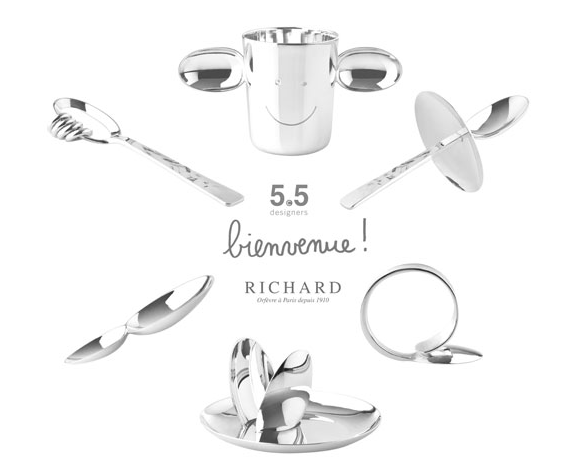 Sterling Silver Baby Gifts by 5.5 Designers for Richard