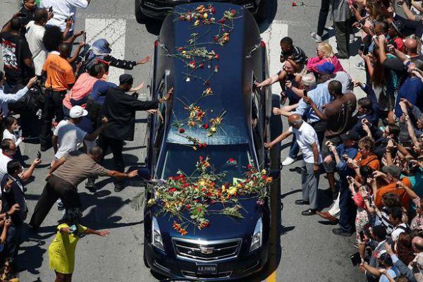 muhammad ali funeral video