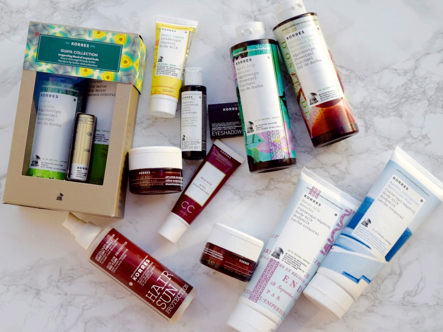 Favourite Korres Products