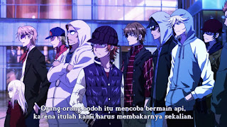 K: Return of Kings Episode 1 Subtitle Indonesia