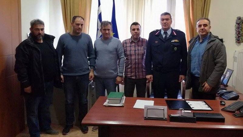 Συνάντηση συνδικαλιστών αστυνομικών της Ορεστιάδας με τον Γενικό Περιφερειακό Αστυνομικό Διευθυντή ΑΜ-Θ