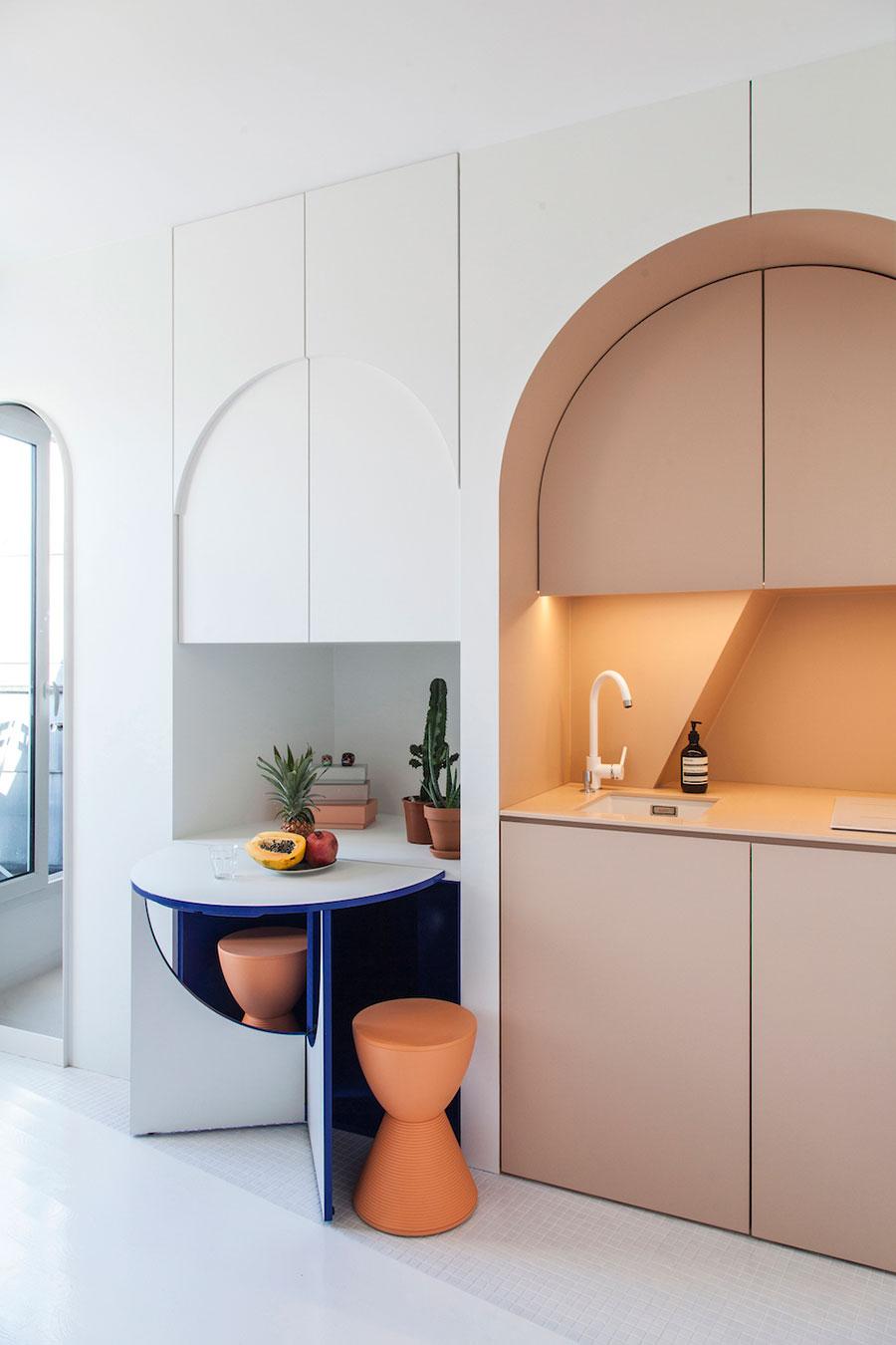 Espa os pequenos apartamento de 11m2 casa com moda for Dormitorio 11m2