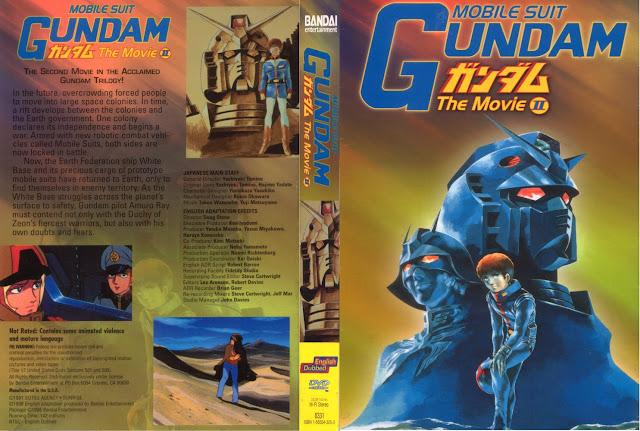 Capa DVD Mobile Suit Gundam The Movie 2