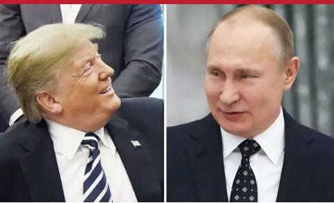 Trump..... Vladimir putin