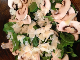 Ensalada de espinacas, preparación 2