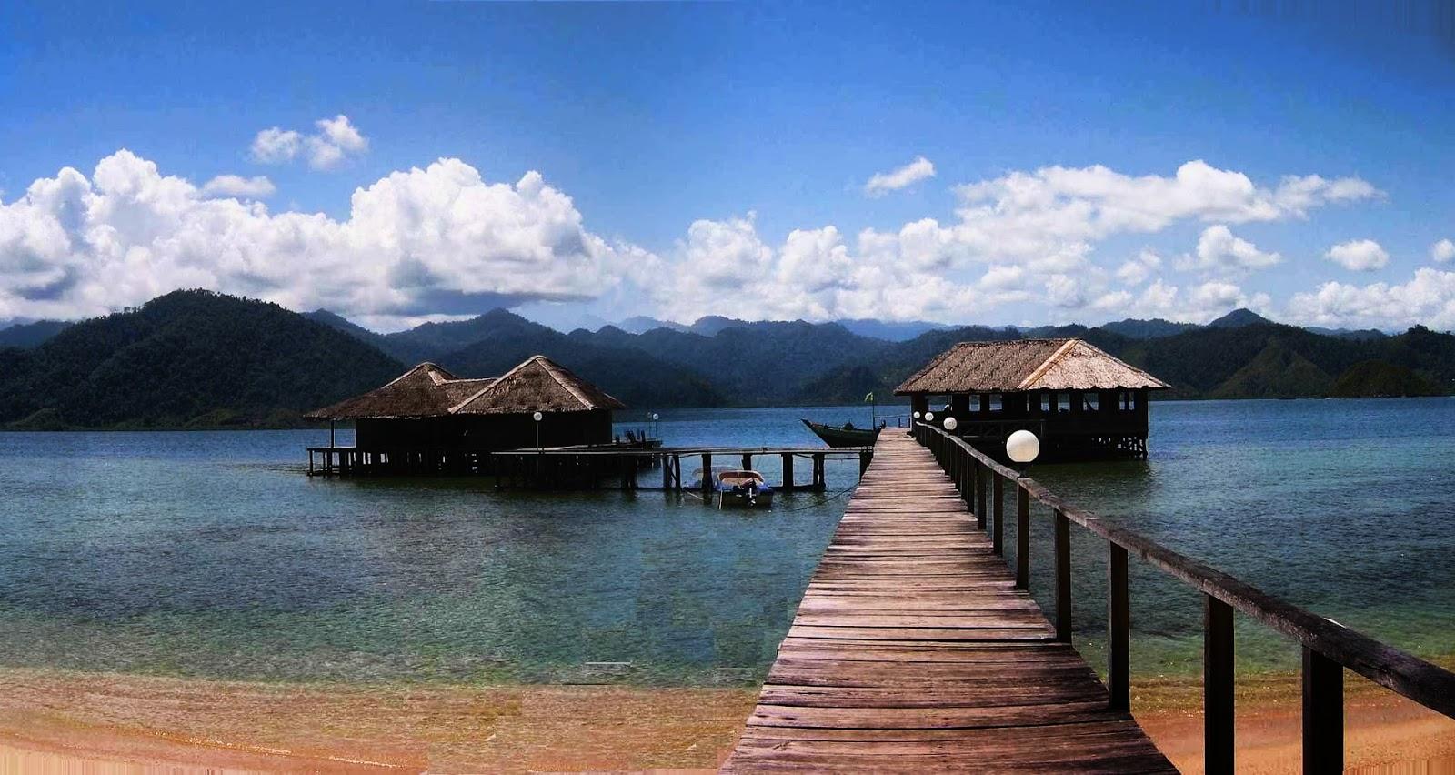 Pantai Cubadak Sumatera