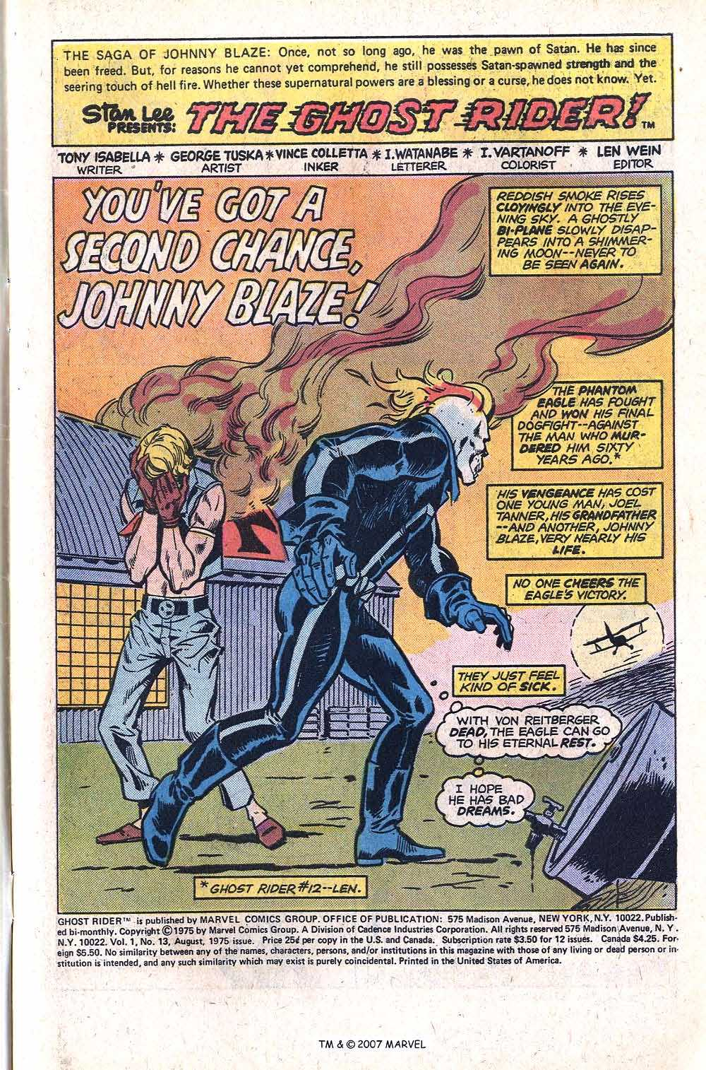 Ghost Rider (1973) Issue #13 #13 - English 3