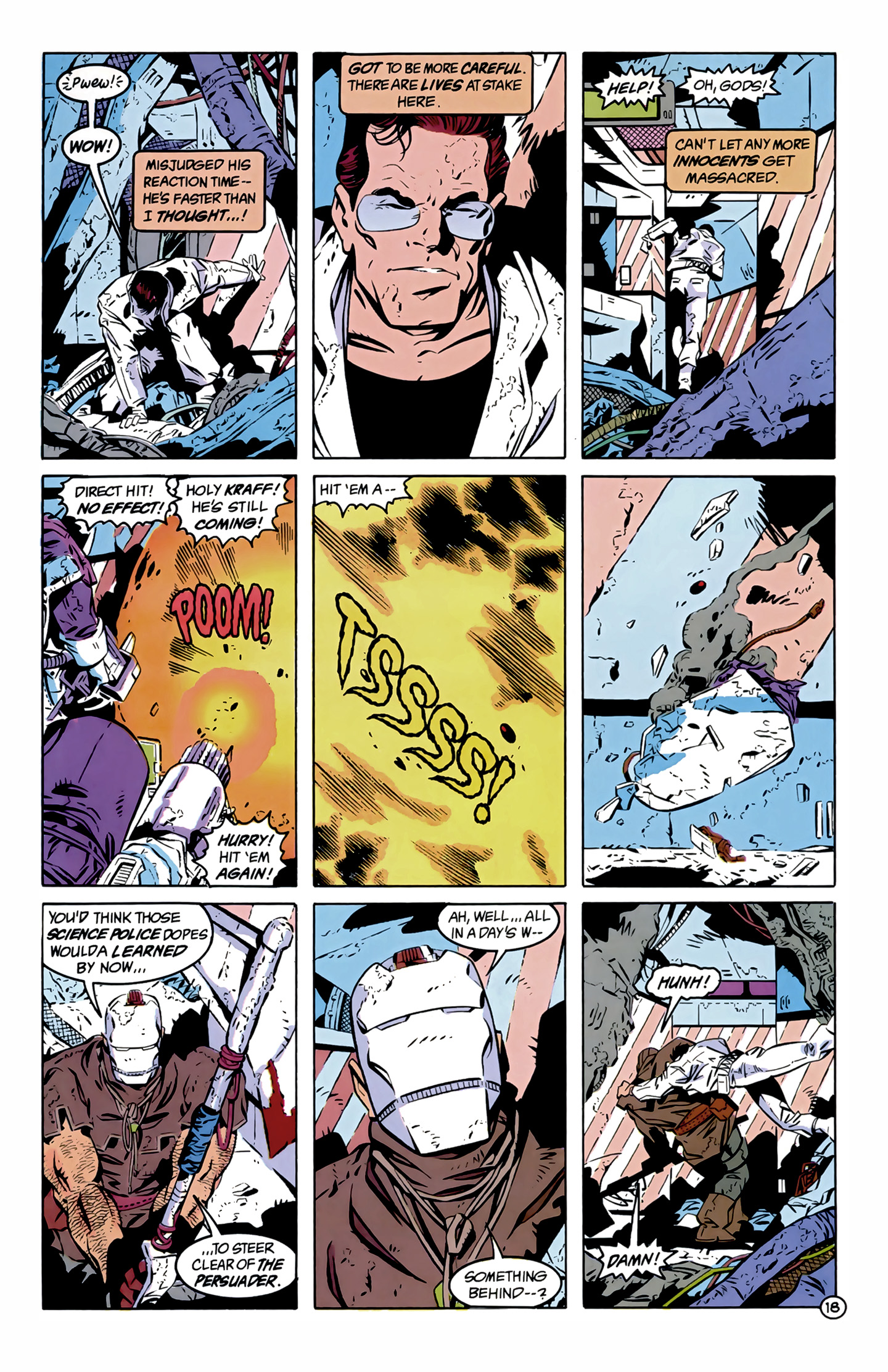 Legion of Super-Heroes (1989) 12 Page 18