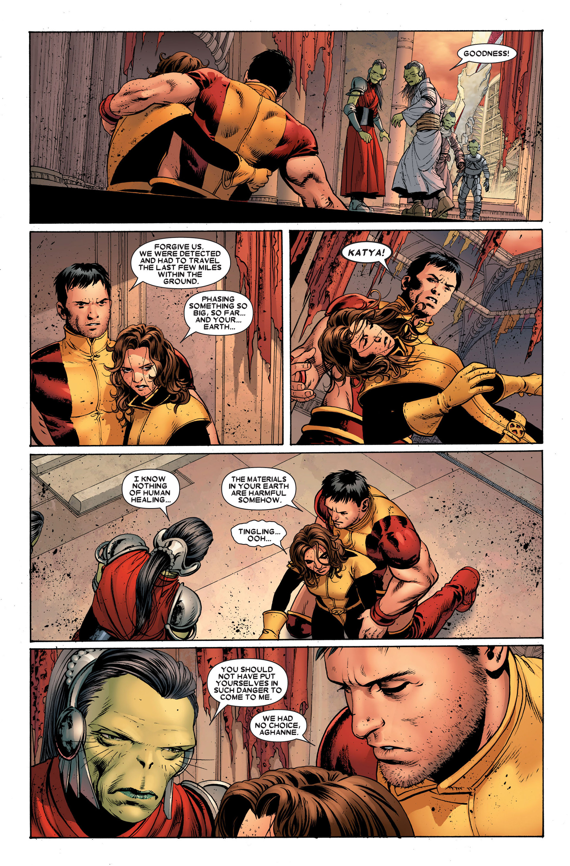 Read online Astonishing X-Men (2004) comic -  Issue #23 - 14