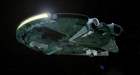 James Luceno Millennium Falcon