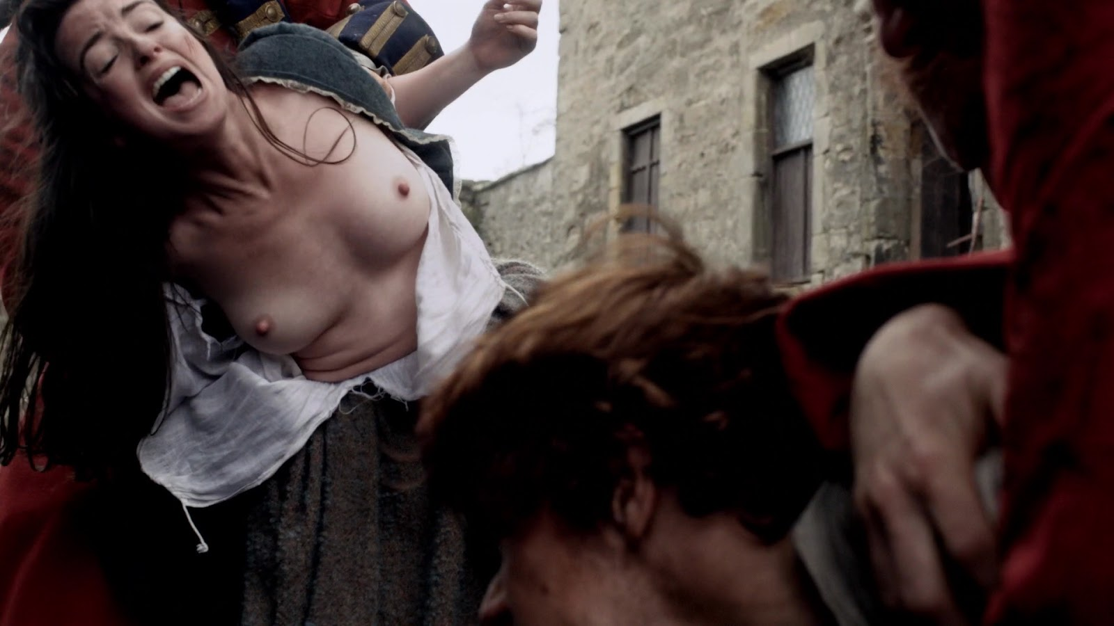Caitriona Balfe's Outrageous Boobies In Outlander