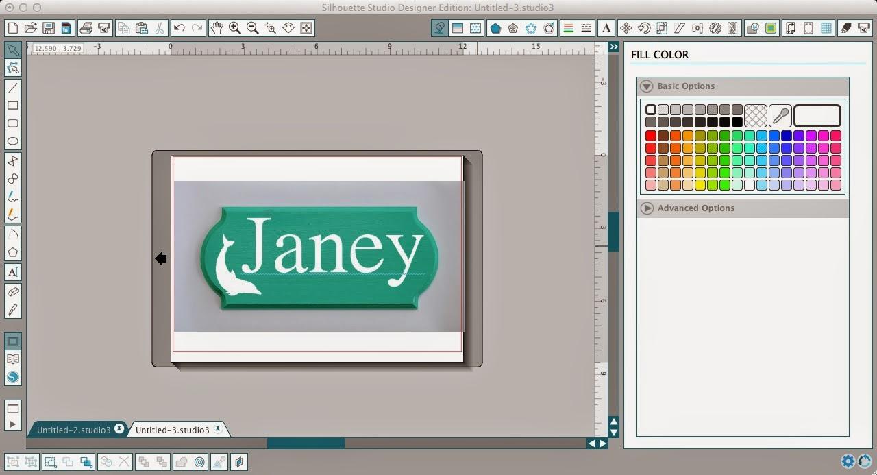 Mock-ups, creating, Silhouette Studio, Silhouette tutorial