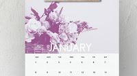 20 Calendari 2020 bellissimi da stampare da muro e pareti