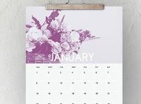 20 Calendari 2019 bellissimi da stampare da muro e pareti
