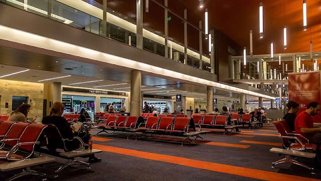 Estrutura do aeroporto Ezeiza em Buenos Aires