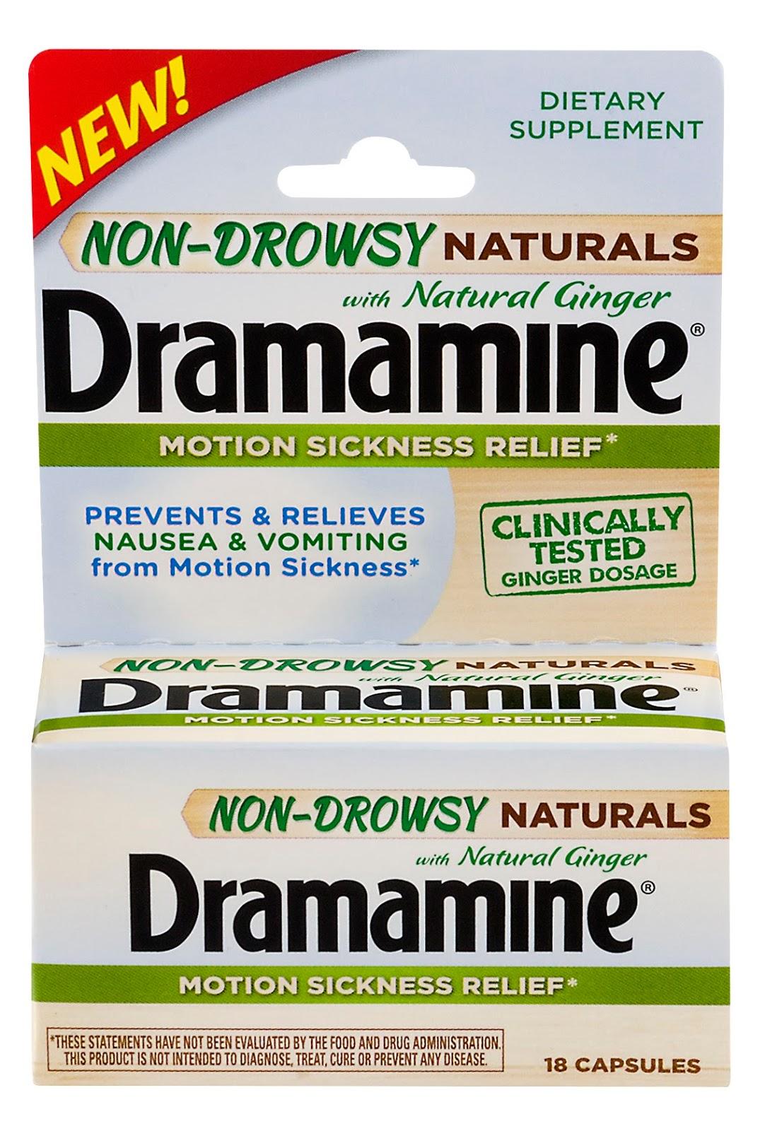 Dramamine Naturals