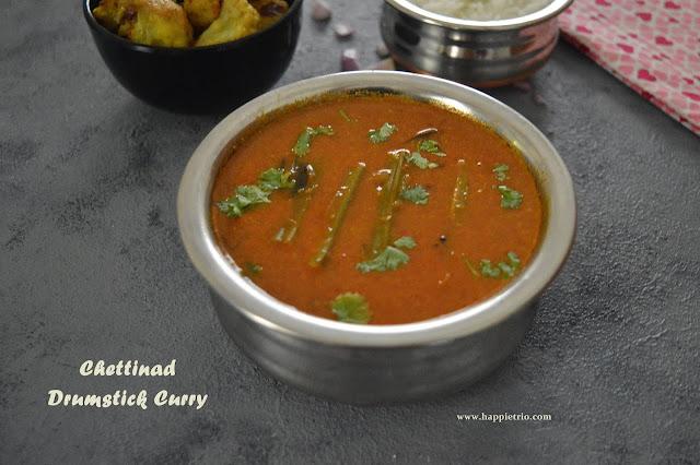 Chettinad Drumstick Kuzhambu | Chettinad Murungakai Curry | Drumstick Kulambu