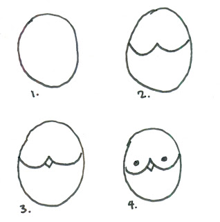 auggie bloggie: how to draw an owl