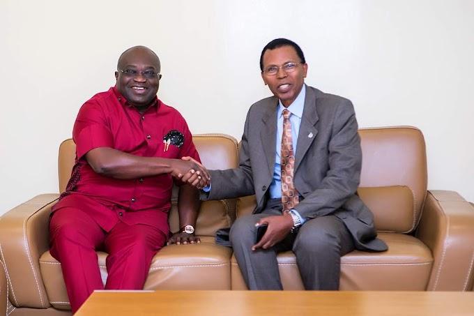 Ikpeazu Is A Great Ambassador Of Christ And The Church, Says President Hersron Byilingiro