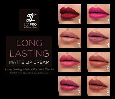 Cilla review LT Pro Longlasting Matte Lipcream