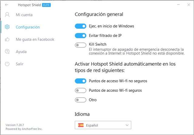 Hotspot Shield Elite 7.20.7 Full Español