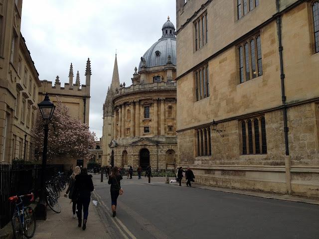 Oxford, ciudad universitaria británica