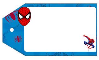 Marcapaginas de Spiderman.