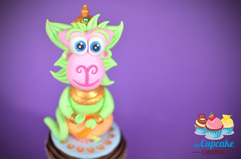 Cupcakes « Dieux-Animaux Hindous » - Hanumān