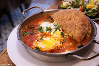 Shakshuka Eggs at Kubeh in New York City
