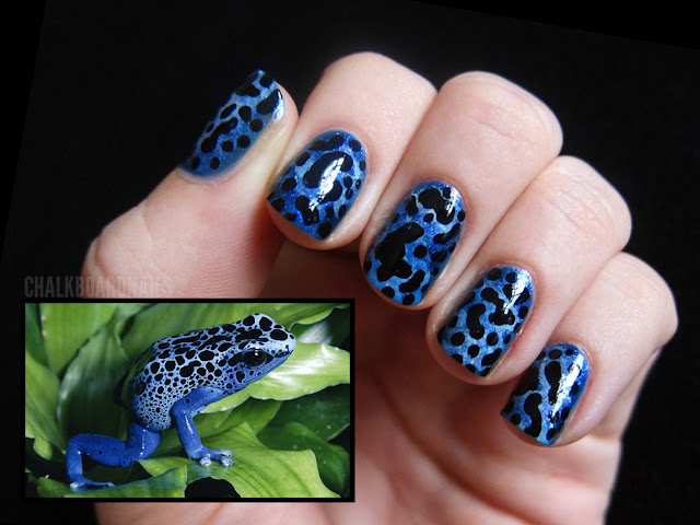 Poison Dart Frog Nails!