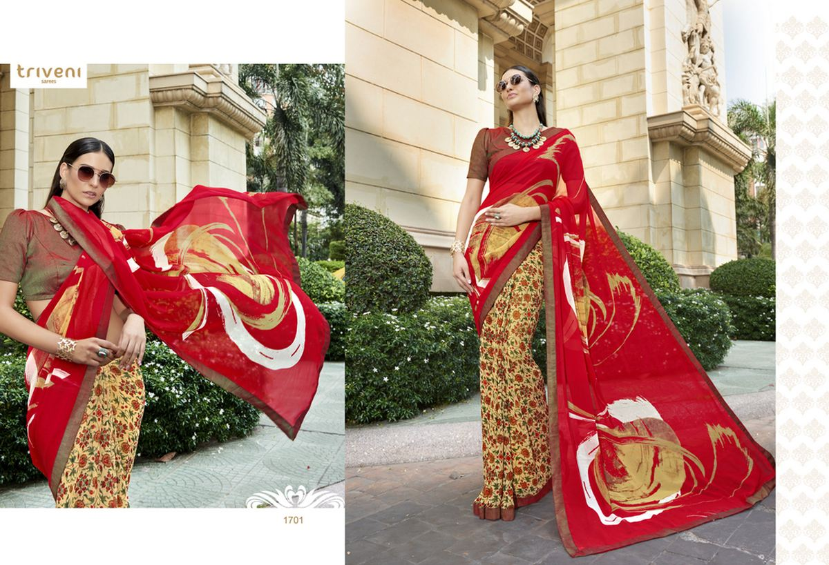 Venice – Different Prints And Patterns Saree