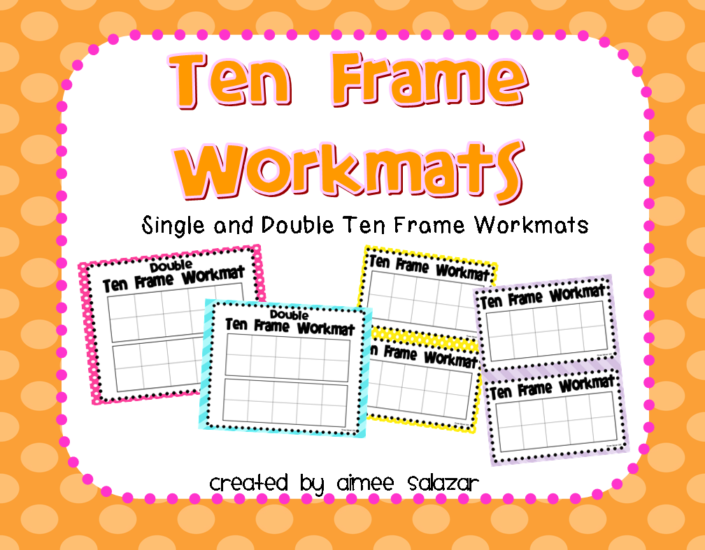 Fun with Ten Frames | Primarily Speaking