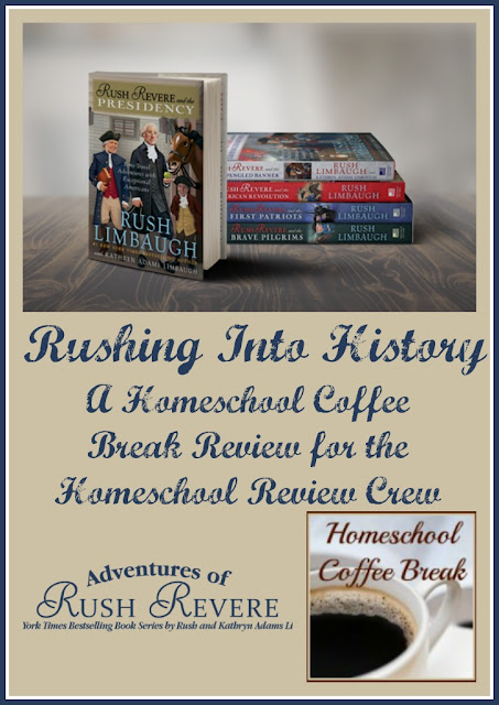 Rushing Into History (A Homeschool Coffee Break Review) on Homeschool Coffee Break @ kympossibleblog.blogspot.com