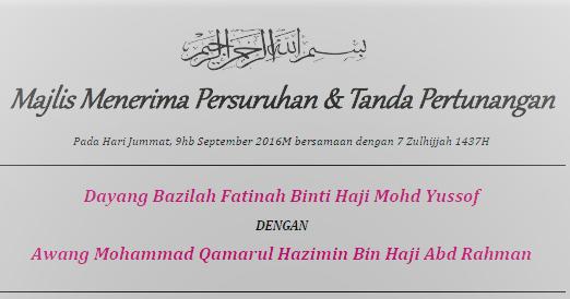 Randomness Of Thoughts Majlis Pertunangan Brunei Dokumen Permintaan
