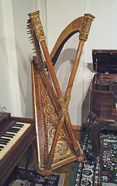 all your music needs a brief history of harps. Black Bedroom Furniture Sets. Home Design Ideas