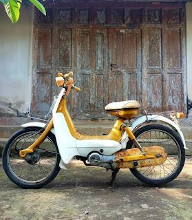 Jual Motor antik Suzuki Mimi 50