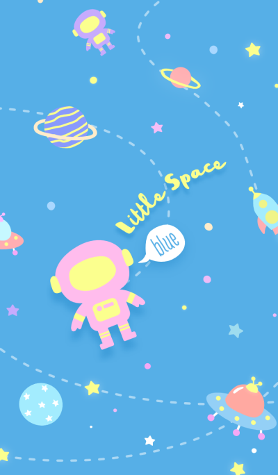 Little Space: Blue Planets