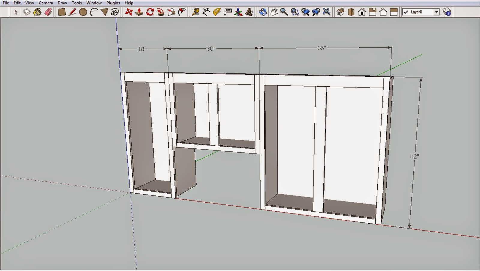 Building Kitchen Wall Cabinets Aid Grills Somehow It All Came Together Upper Cabinet Build