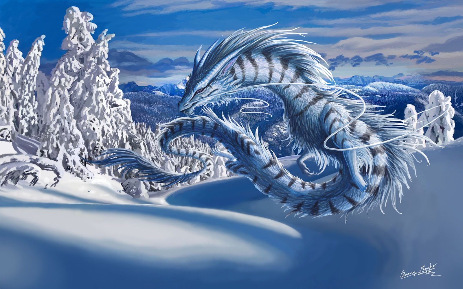 30 High Definition 3d Ipad Wallpapers: Wallpapers Hd For Mac: Dragon 3D Wallpaper High Definition