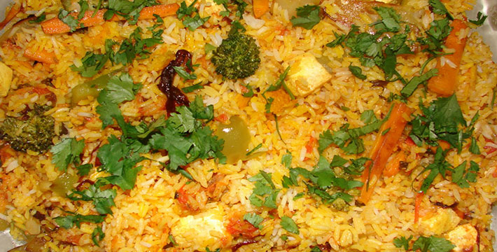 व्हेजिटेबल बिर्याणी - पाककला | Vegetable Biryani - Recipe