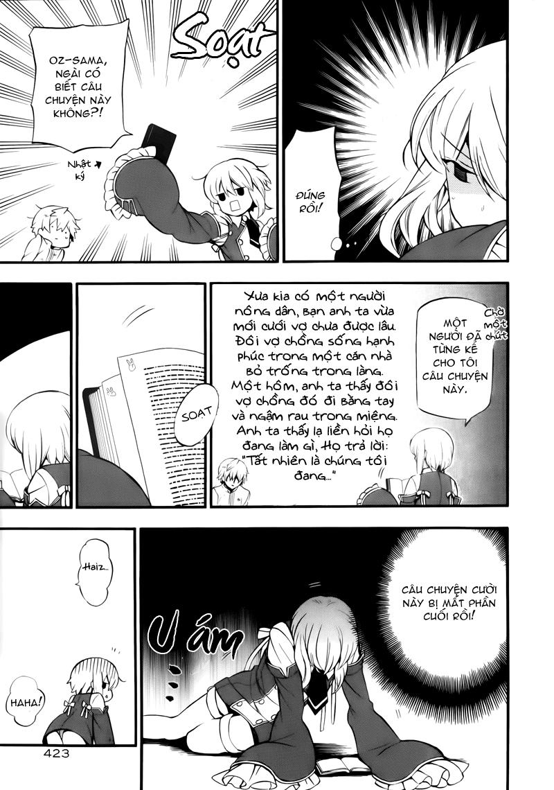 Pandora Hearts chương 077 - retrace: lxxvii vacant trang 25